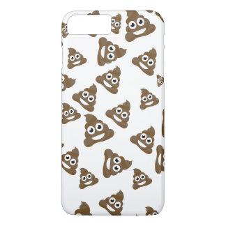 Funny Cute Poop Emoji Pattern iPhone 8 Plus/7 Plus Case