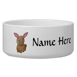 Funny Cute Rabbit. Bowl