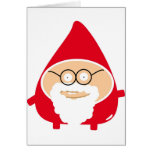 Funny Cute Santa Claus Card