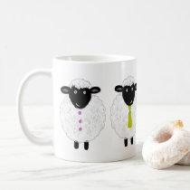 Funny Cute Sheep Coffee Mug
