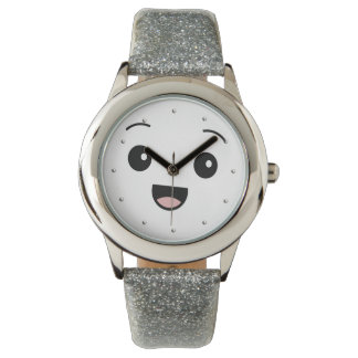 Funny Cute Smiley Face Wristwatch