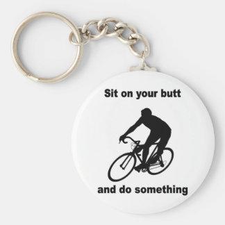 Funny cycling key chains
