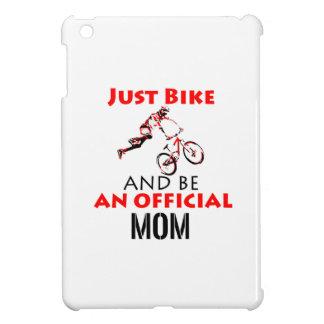 Funny Cycling mom iPad Mini Covers