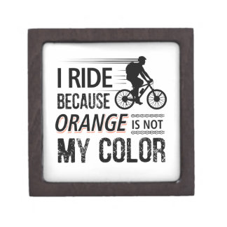Funny Cycling Tees Jewelry Box