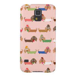 Funny Dachshund Dogs Galaxy S5 Case