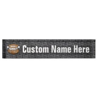 Funny Dad's Fix-it Shop Handy Man Father's Day Nameplate