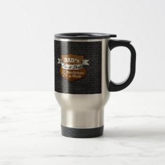 Funny Dad's Fix-it Shop Handy Man Father's Day Travel Mug