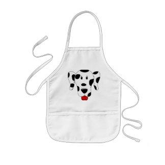 Funny Dalmatian Kids' Apron