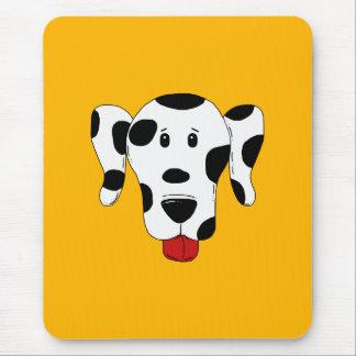 Funny Dalmatian Mouse Pad