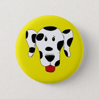 Funny Dalmatian Pinback Button