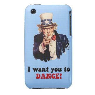 funny dance iPhone 3 Case-Mate case