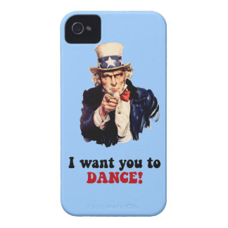 funny dance iPhone 4 cover