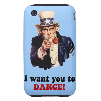 funny dance tough iPhone 3 cover