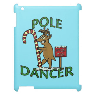 Funny Dancer Christmas Reindeer Pun Case For The iPad