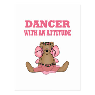 Funny Dancer With Attitude Postcards