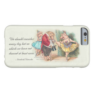 Funny Dancers iphone6 case with Nietzsche Quote