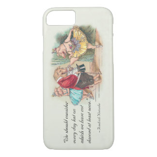 Funny Dancers iPhone 7 case with Nietzsche Quote