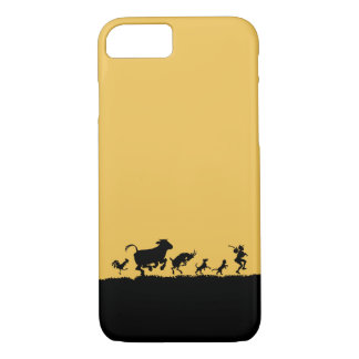 Funny Dancing Animals Cow Chicken Goat Silhouette iPhone 7 Case