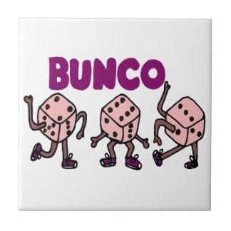 Funny Dancing Bunco Dice Tile