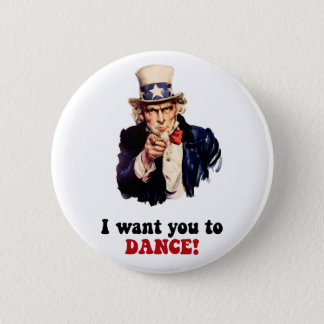 Funny dancing button