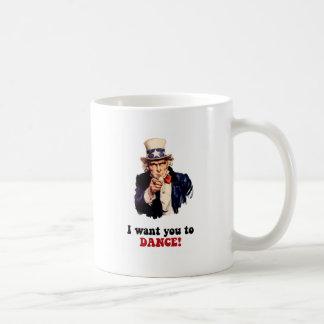 Funny dancing coffee mug