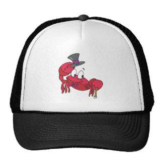 funny dancing crab trucker hat