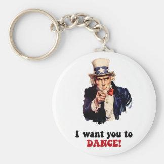 Funny dancing keychain