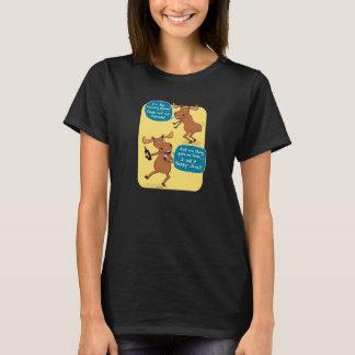 Funny Dancing Moose Shirt