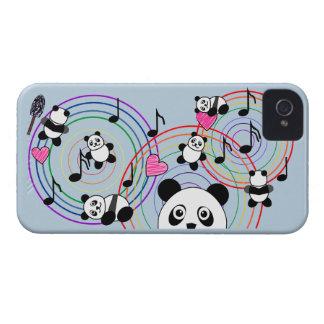 Funny Dancing Pandas IPhone4 Mate Case Case-Mate iPhone 4 Cases