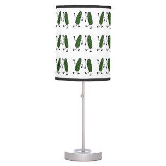 Funny Dancing Pickles Art Desk Lamp