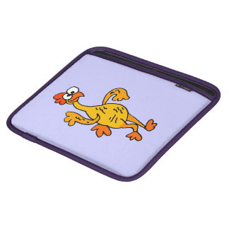 Funny Dancing Rubber Chicken iPad Sleeves