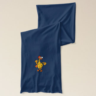 Funny Dancing Rubber Chicken Scarf