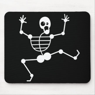 Funny Dancing Skeleton Mouse Pad