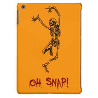 Funny Dancing Skeleton Oh Snap iPad Air Case