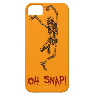 Funny Dancing Skeleton Oh Snap iPhone SE/5/5s Case