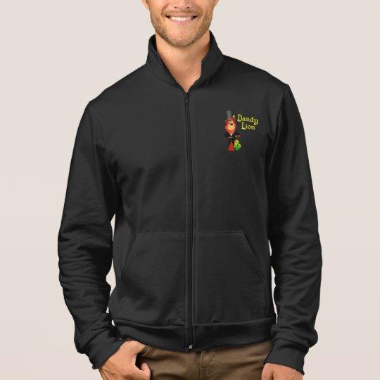Funny Dandy Lion Fleece Jacket
