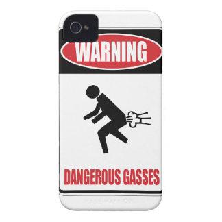 Funny Dangerous Gasses iPhone 4 Case