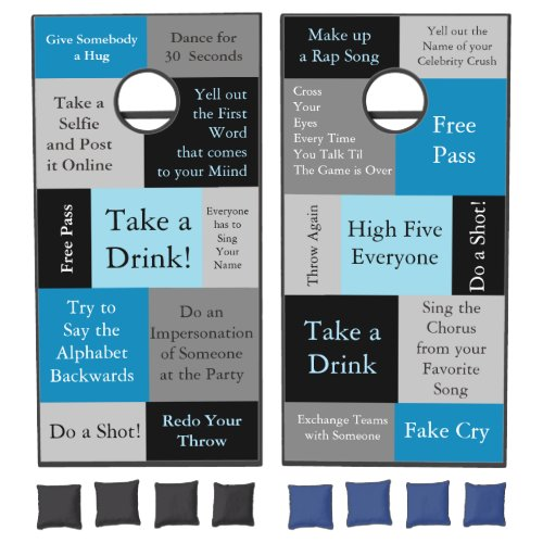 Funny Dares Drinking Game Corn Hole