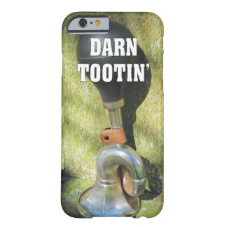 Funny Darn Tootin' Antique Bicycle Horn Barely There iPhone 6 Case