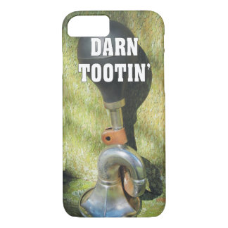 Funny Darn Tootin' Antique Bicycle Horn iPhone 8/7 Case