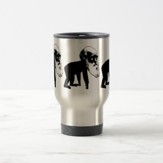 Funny Darwin evolution 15 Oz Stainless Steel Travel Mug