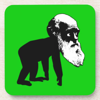 Funny Darwin evolution Drink Coaster