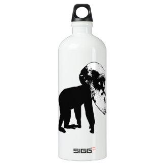 Funny Darwin evolution Water Bottle
