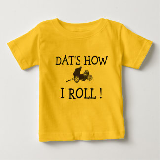 FUNNY DAT'S HOW I ROLL VIINTAGE ALTERED DRAG RACE T SHIRTS