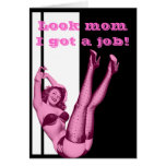 Funny daughters mothers day stationery note card
