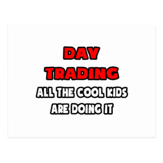 Funny Day Trader Shirts and Gifts Postcard