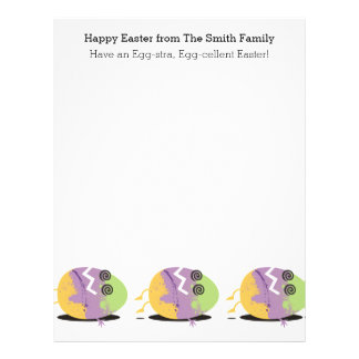 Funny dead colored Easter egg gonna need more eggs Letterhead