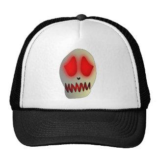 Funny Dead Evil Sad Skull Trucker Hat