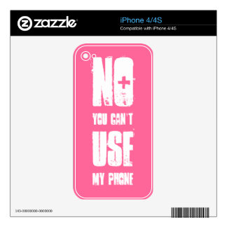 Funny Decal For iPhone 4