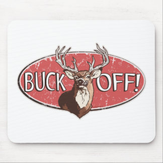 Funny Deer Hunter Gear by Mudge Studios Mouse Pad